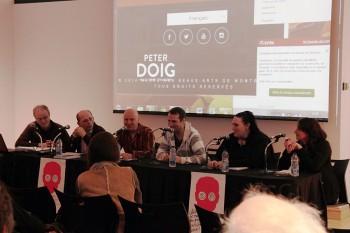 De gauche à droite : Gilles Simard, Yann Le Bossé, Mario Bousquet, Simon Vermette, Maya St-Laurent et Gina Caron.