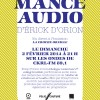 L'Atelier de création en art audio à La Croche oreille (CKRL-FM) - 2 février 2014 - Graphisme : Maxime Doucet